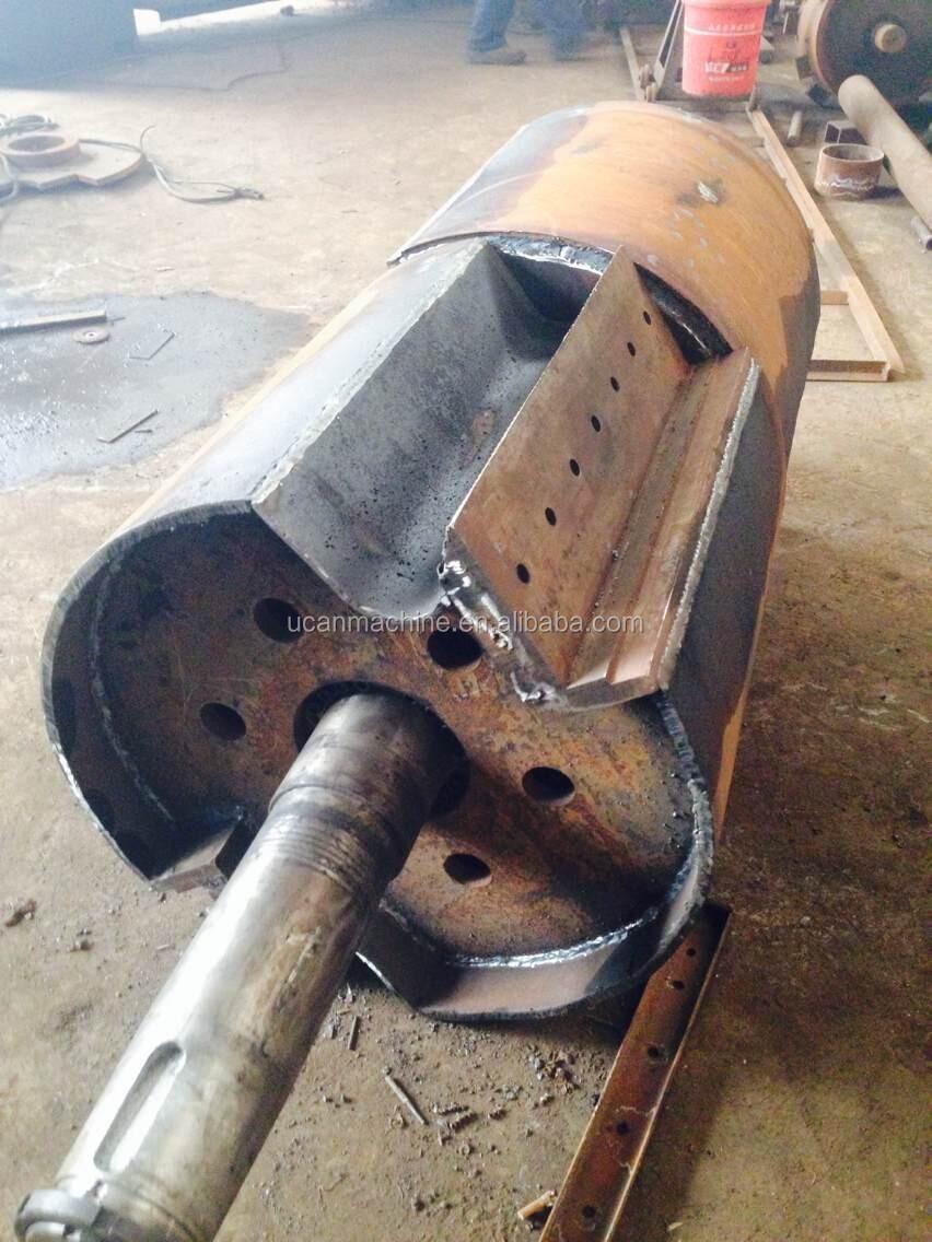 5 8t H Biomass Wood Pallet Chipper Machine Wood Shredder