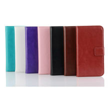 wallet leather case For Motorola Moto G 4.5'', Best selling products wallet design leather material