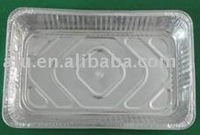 Household aluminum foil container/vessel/tray