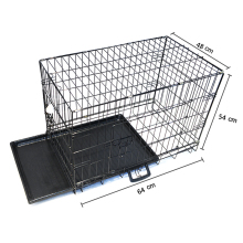 heavy duty welded wire mesh metal car dog cage
