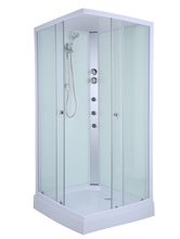 AJL15E02 Cheap ABS Bathroom Shower Enclosure With Seat