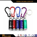 Promotional led keychain, Mini Flashlight Key Ring torch light, new promotional item led flashlight
