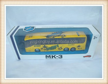 Tire die cast metal Toy bus