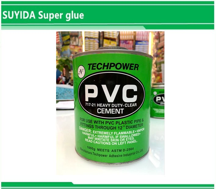 Pvc glue adhsive for pipe/UPVC PIPE adhesive/pvc pipe solvent cement