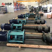 chemical small slurry sludge vertical type screw pump for material unload
