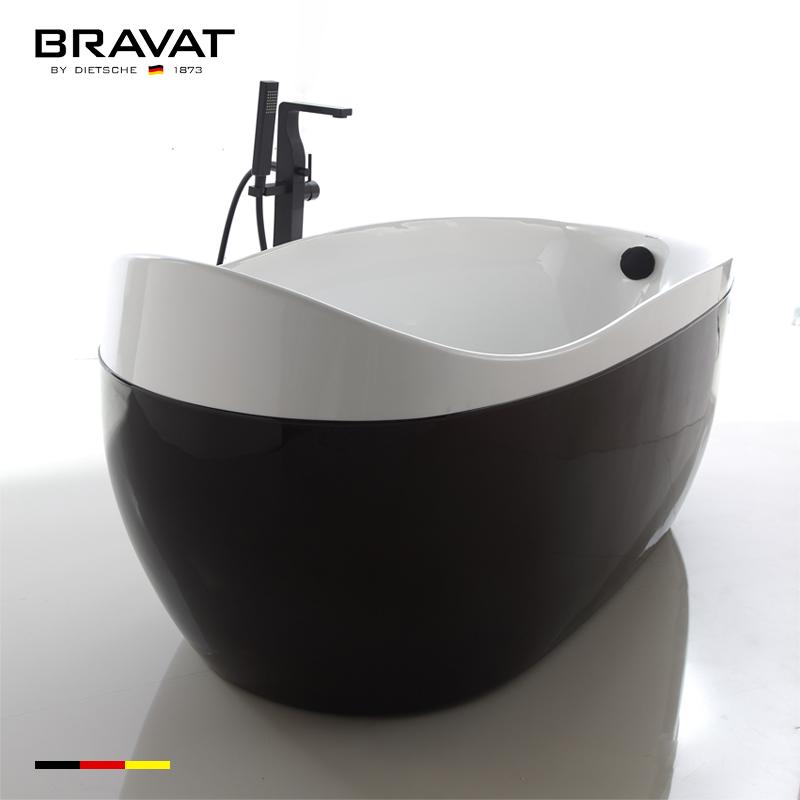 Freestanding Double Slipper Bathtub hot spa tub B25824W-1K, View hot ...