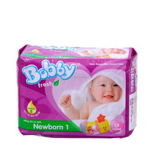 Diaper Bobby Fresh Newborn 1 (28pcs) / Wholesale baby diaper