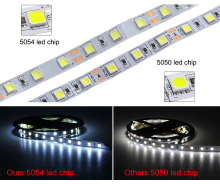 5054 flexible led strip 3528 led flex strip light Waterproof Flexible Single Color Led Tape Light Ultra bright 12V