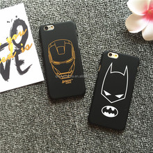 OEM and ODM PC plastic cool bat pattern mobile phone case cover for girl for iPhone 6 6s 6plus 6splus