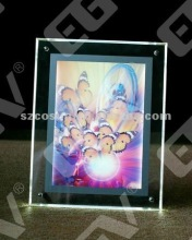 crystal moon light slim light box