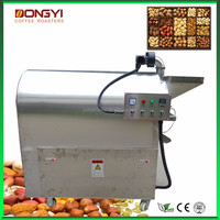 electric peanuts roaster for sale/best price cocoa bean roasting machine for industrial used