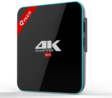 Nice octa core android iptv set top box Q plus world approval android tv box