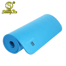 polyester 15mm nbr yoga mat tpe bag with pocket