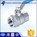 Manual Economical cf8m stainless steel ball valve