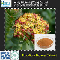 Pure 3% Salidroside Rhodiola Quadrifida Extract Powder