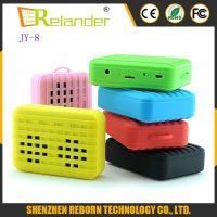 Hot sale JY-8 New Portable Mini Bluetooth Speaker Stereo Sound Box Mp3 Music Player Wireless Handsfree Speakers