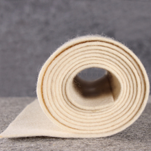 manufacturer natural white 2mm thick 100% fine wool felt