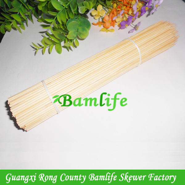 3.0x300mm strong meat bbq bamboo kebab skewers wholesale