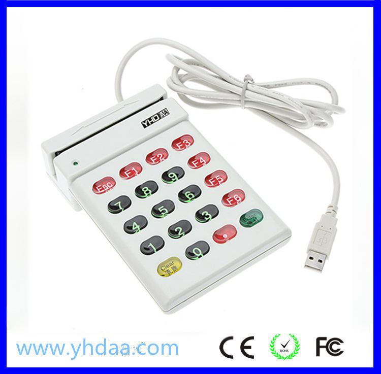 Good quality magnetic credit card reader writer,card reader for credit card machine