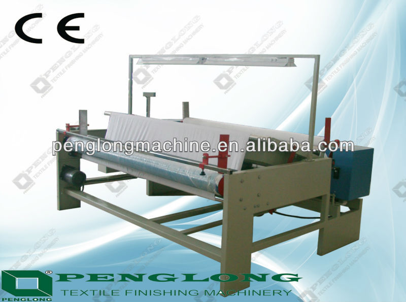 Roll to Roll Small Size Cloth Winding Machine fabric inspection machine