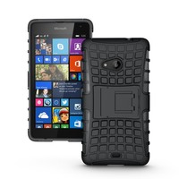 Black BX Shock Resistant Mobile Phone Case Cover for Nokia 535, for Nokia 1090 Protective Case