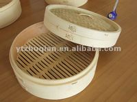 "Natural Bamboo and wood steamer kitchen ware for Chinese food in stock,6""7""8"" export to Cyprus, Turkey"