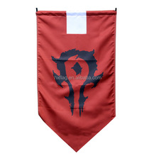 Cartoon Movie Game Flag World Of Warcraft Flag Made In China