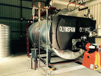 Horizontal Oil Fired Steam Boiler