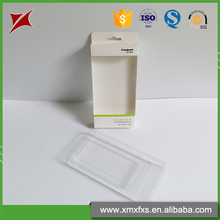 Plastic mobile phone's cellphone's blister packaging pet white disposable tray