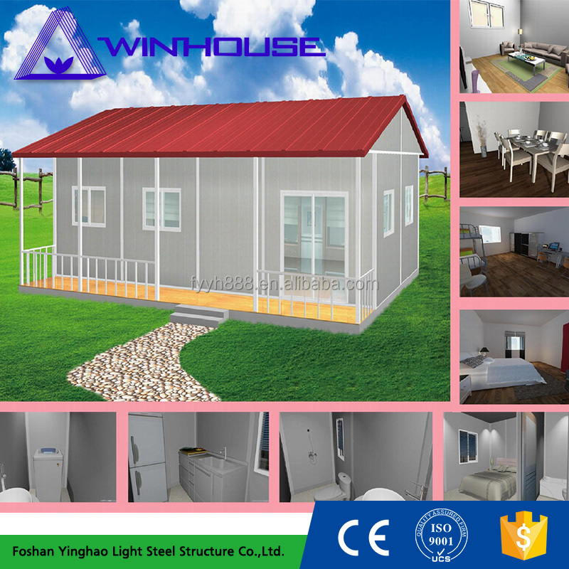 20 ft low cost prefab house for sale china container villa