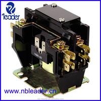 UL certificate 1 pole 40A 240VAC DP electric contactor