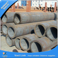 Promotional astm a53 grade b mild steel pipes with great price