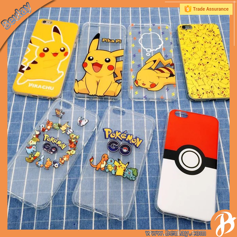 Pokemon Snap mobile phone cartoon tpu case for iphone 5s se 6s 6p