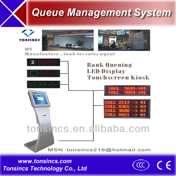 OEM Multi-Language Unicode Bank Wireless Queue Management System