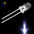 ultra bright 5mm white 6500k led diode for sale