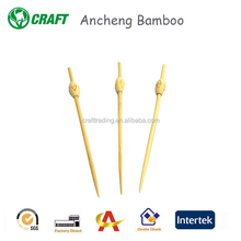 Unique style mini natural bamboo bar picks from China