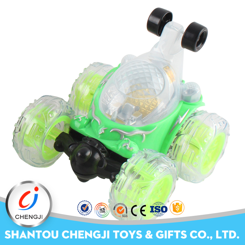 Popular high speed plastic 360 degree rotation rc toy car for kids
