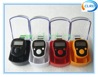 Electronic muslim led hand ring finger led tally counter with plastic case package
