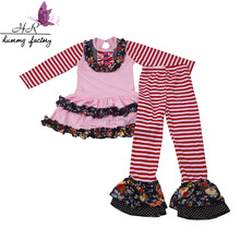 Hot sale cute baby clothing set child clothing fall girls' outfits childrens new style garments baby clothes