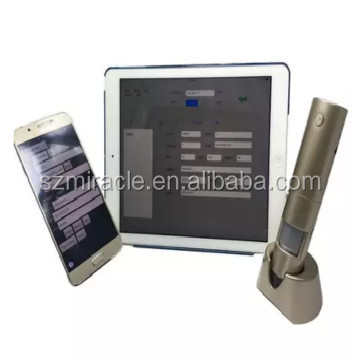 Ultra-clear portable wireless access phone ,skin detector