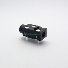 3.5mm 3 pin female usb audio phone jack socket