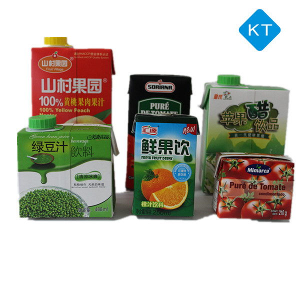 KT 200ml Brick-shape paper cartons