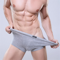 New Men's Underwear Fashion Sexy Men Boxer Gay Cotton Brand Men's Underwear Shorts Boxer Factory Wholesale
