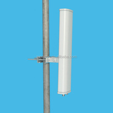 Antenna Manufacturer 2.4GHz 2x15dBi 65 Degree X-Polarized WiFi Sector Panel antenna 5km wireless transmitter and receiver
