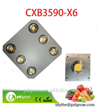 high power full spectrum CXB3590 600W COBs led grow lights indoor grow for plants and flowering