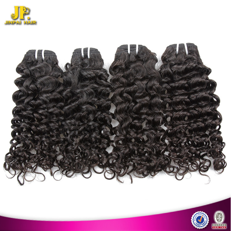 JP Hair Natural Color Mongolian Virgin Hair Different Types Of Curly Hair Weave