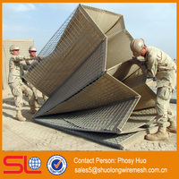 MIL2 Best Price Hesco Bastion Wall Welded Galvanized Hesco Barrier For Sale