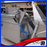 2014 the hotest sale potato chips frying machine/snack fryer machine/churros machine with frye