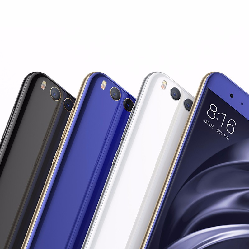 original Xiaomi Mi 6 Mi6 mobile phone 5.15inch Octa Core Qualcomm Snapdragon835 1080P 6GB ram 128GB rom QC3.0 NFC Fingerprint ID