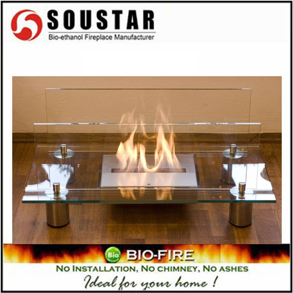 EF-1004 Luxurious-ModernTable Style Bioethanol Fireplace